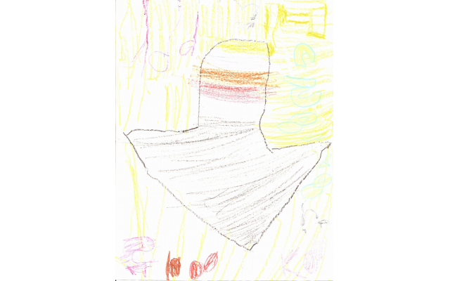 Happy Chanukah Dreidel by Chana Antopolsky from Chaya Mushka Children's House, Preschool