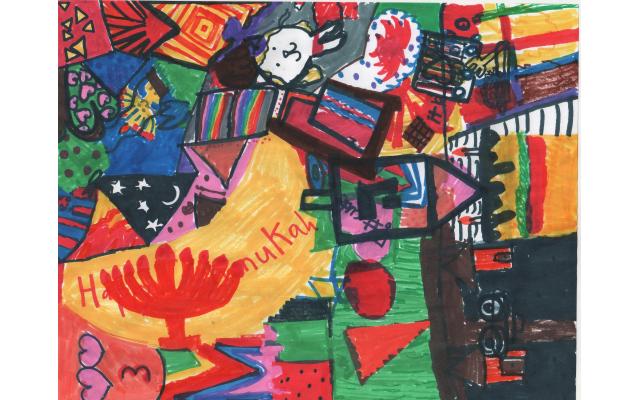 Chanukah Craziness by Devorah Melnick from Toras Emes, Third Grade