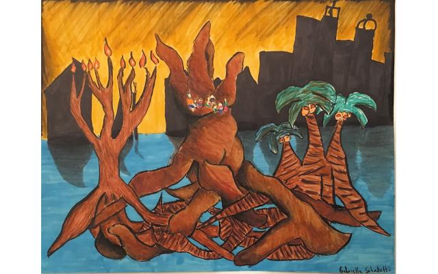 Roots of Hannukah by Gabriella Schakett from Atlanta Jewish Academy, Seventh Grade