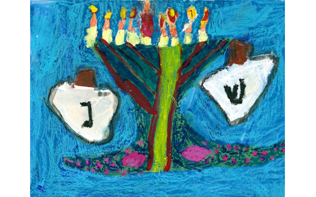 Mixed Media by Yaniv Baron from The Epstein School, First Grade
