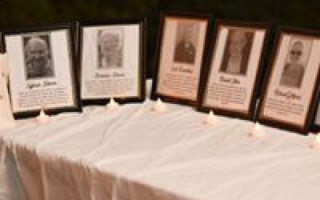 Photos of the Tree of Life synagogue victims with their names and info about them.
