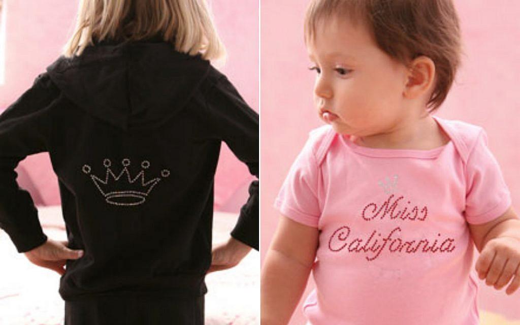 Rhinestone-studded custom apparel from JustJen.com