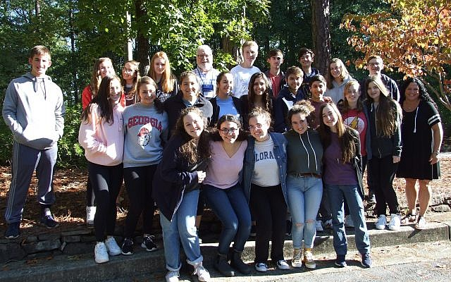 Photos courtesy of the Center for Israel Education // Two dozen teens from seven states attend the Teen Israel Leadership Institute at the Center for Israel Education the weekend of Oct. 26 to 28.