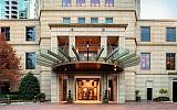 Exterior view of the new Waldorf Astoria in Buckhead.