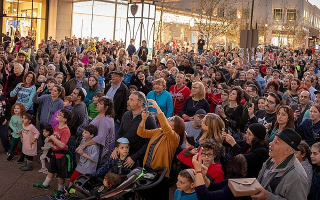 Almost 500 members of North Fulton's diverse celebrated the holidays with a traditional Chanukah event Dec. 2.