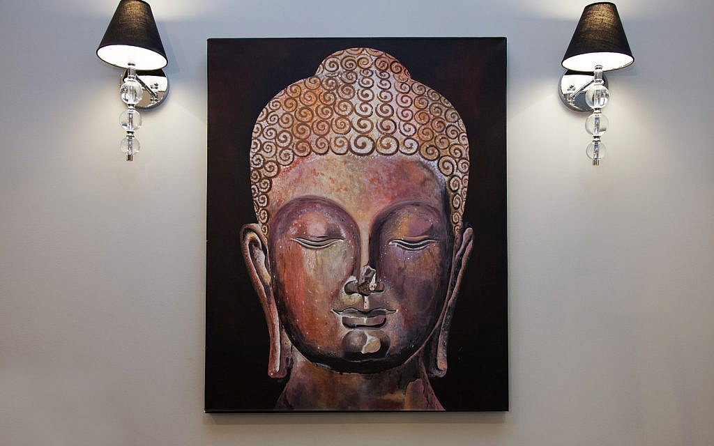 Lauren and Mark bought this original Buddha in Chiang Mai, Thailand.