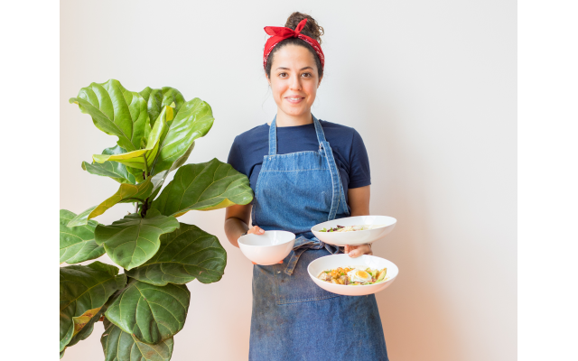 Julia Kesler pulls together South African and Mediterranean flavors with Georgia-grown ingredients.
