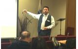 Dean Monteleone, clinical director of Caron Atlanta, led the seminar on vaping at The Weber School.