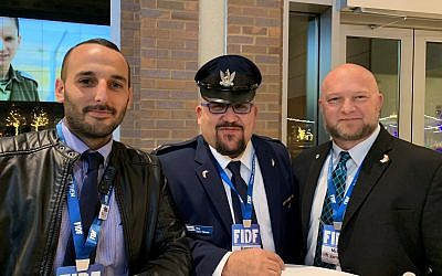 With a wealth of experience are IDF members Netanel Rappaport (Israeli Air Force maintenance), Maj. Yaniv Hassar (liaison officer for Warner Robbins) and Mike Carmel (manager of F15 fighter jets).