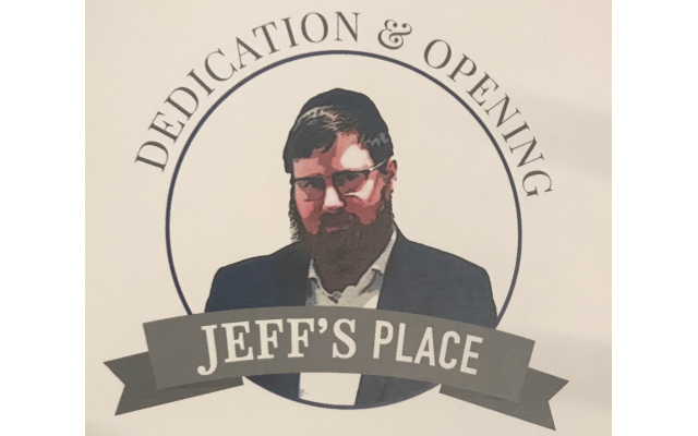 The opening of Jeff's Place featured a welcome from Rabbi Eliyahu Schusterman, Jewish teaching from Chabad Intown Rabbi Ari Sollish, speeches from recovery organizations, and some words from Jeff's family and friends.