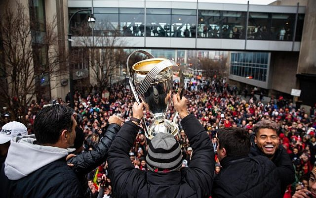 Atlanta United parade celebrates MLS Championship.