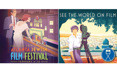 Graphics and stills courtesy of AJFF // Founded by the American Jewish Committee 19 years ago, the Atlanta Jewish Film Festival is known for showcasing the very best of what the cinematic arts offer.