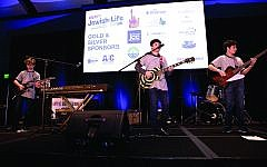 The band Friction, made up of eighth-graders from The Davis Academy, was a standout act.