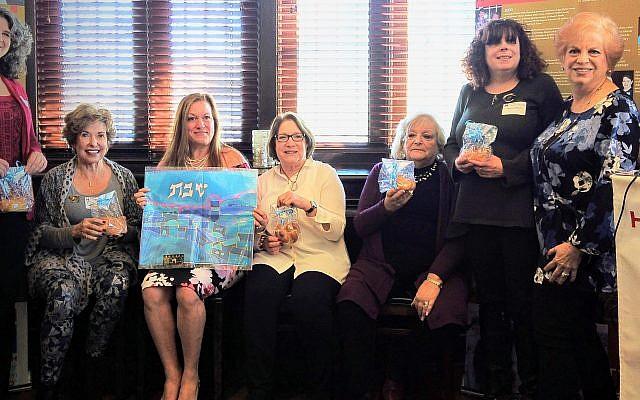 Photograph by Ethan Merbaum // 2019 HGA officers: Diane Fisher, Nancy Schwartz, Michele Weiner-Merbaum, Annie Loventhal, Judy Bart, Marni Hoffman with Linda Hakerem and Sheila Dalmat. Not shown: Marci Abrams-Feinstein and Cheryl Gordon.