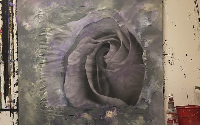 """Wilensky original """"Nothing but a Rose"""" captures the drama of her vision."""