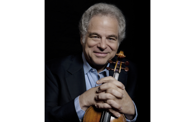 Photo by Lisa Marie Mazzucco of Itzhak Perlman.