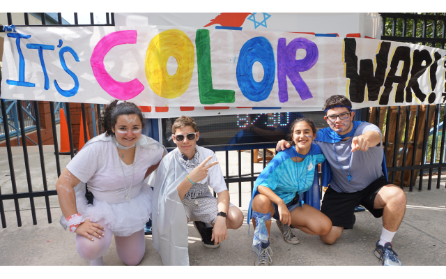Color wars are a staple of the ITC camp experience.
