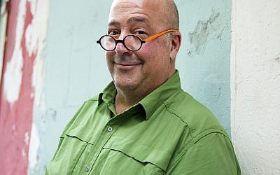 "Celebrity chef Andrew Zimmern has written a book, ""AZ and the Lost City of Ophir."""