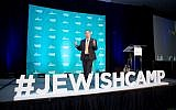 Jeremy Fingerman, CEO of the Foundation for Jewish Camp, opened the Foundation for Jewish Camp's Leaders Assembly, the largest conference for the Jewish camp field that attracts more than 700 for networking and professional development opportunities.