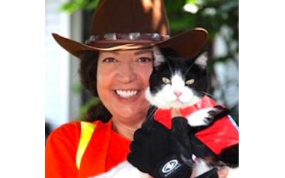Kim Freeman of Lost Cat Search & Rescue.