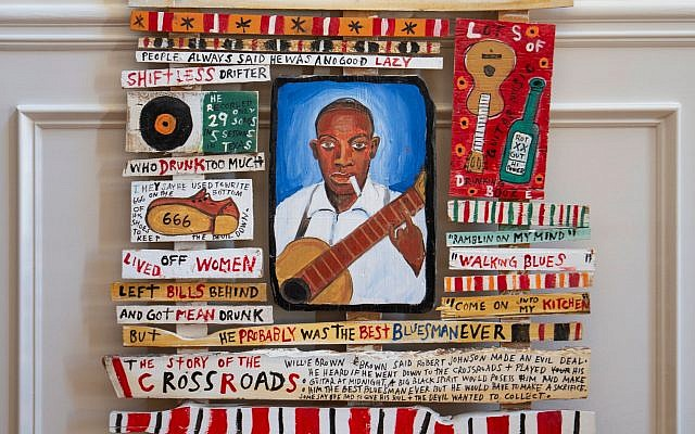 """""""Robert Johnson King of the Delta Blues,"""" by Jack Poppitz expresses the male African-American experience with """"politically incorrect"""" terms."""