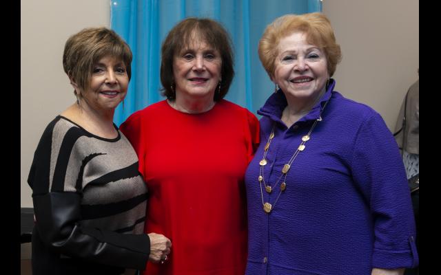 Portraits by Heidi Morton // Maxine Rosen, Rita Bodner and Sue Winner.