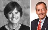 Lois Frank is a past JCPA chair, Federation women's philanthropy president and national vice president of the American Jewish Committee, among other distinctions. While JCPA chair, Larry Gold was active in the fight against poverty.