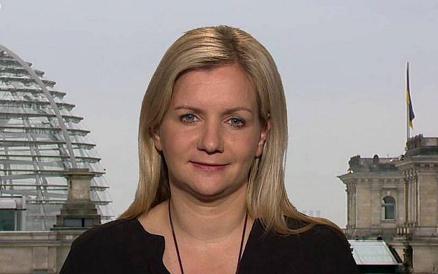 Juliane Schauble is the Washington correspondent for the German newspaper, Der Tagesspiegel.