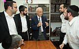 CKD rabbis with American sociology professor Chaim Waxman discuss recent developments in Israeli and diaspora Jewry.