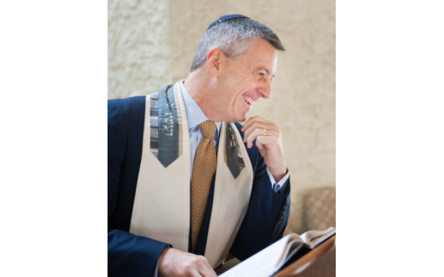 Temple Sinai's Senior Rabbi Ron Segal has spent his entire professional career at the Sandy Springs congregation.