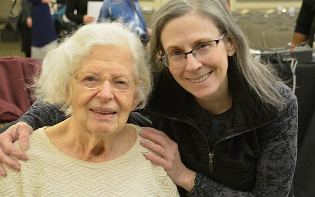 Sharon Lichtenthal and her mother, Ellen Rosenzweig.