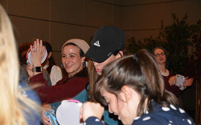 Rachel Linkwald, Faigy Salomon and Kim Berry.