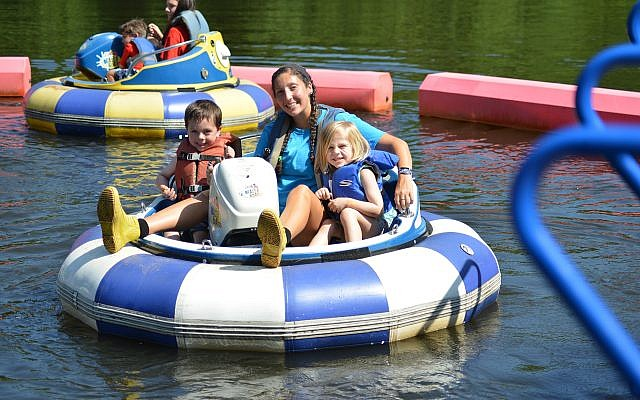 Water sports such as rowing and paddle boats are among the fun activities campers can choose.