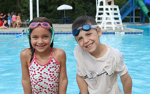 Swimming is a traditional part of summer camp at the MJCCA.