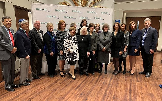 All of the honorees met for a photo op before the dinner presentation which was composed of three separate videos where these honorees spoke of their own motivation for good deeds.