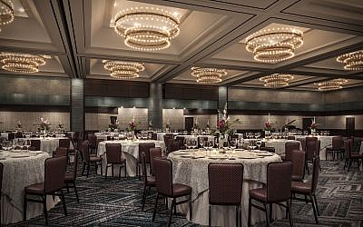 The Ravinia renovated ballroom is already booking dates for future simchas.