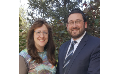 Married couple Rivka and Avrami Teitelbaum are eager to make a difference once Avrami completes the Center for Kehila development program.