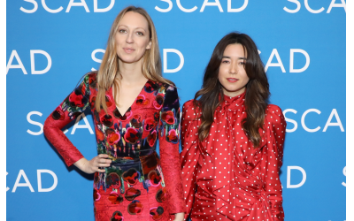 "Photo by Cindy Ord/Getty Images // Actors Anna Konkle and Maya Erskine attend the ""Pen15"" screening during SCAD aTVfest 2019 at SCADshow."