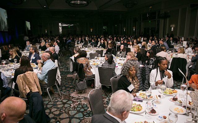 JF&CS holds its Community of Caring luncheon at the Grand Hyatt hotel.