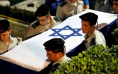 Photo via Reuters/Ronen Zvulun // Zachary Baumel, a U.S.-born Israeli soldier, was missing since a 1982 tank battle.