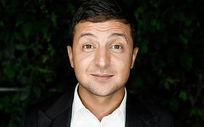 Comedian Volodymyr Zelenskiy is front-runner in Ukraine's presidential election race.