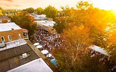 Photo courtesy of the city of Alpharetta // Special events such as Alive After 5 in Roswell Square add to the cultural mix in North Fulton.