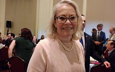 Ambassador Judith Varnai Shorer, Israel Consul General, was among the consuls general in attendance.