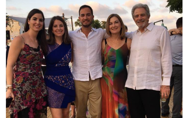Deborah Herr Richter, second from left, with her family in Tel Aviv.