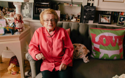 Dr. Ruth Westheimer has lived in the same cluttered N.Y. apartment for more than 40 years.