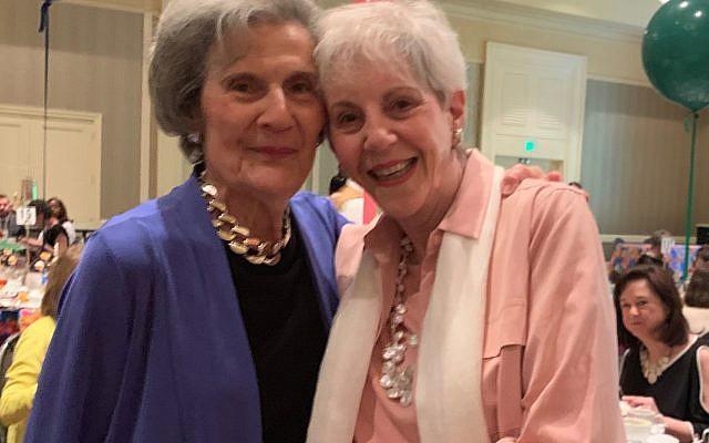 Ardent supporters Sylvia Friedman and Carol Breman Nemo enjoy the annual program and camaraderie.