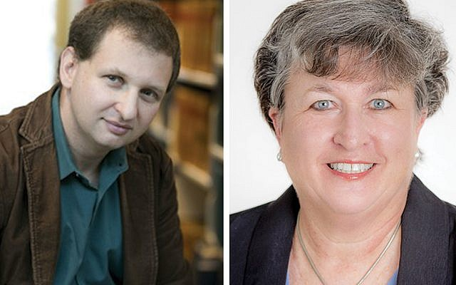 "Left: Alexander ""Sasha"" Volokh is assistant professor of law at Emory University. Right: Nancy Seideman is Emory University's vice president of academic communications."