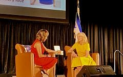 "Dr. Valerie Montgomery Rice discusses ""Where the Light Enters"" with Jill Biden."