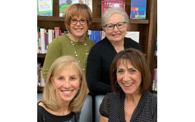 Three of the gala co-chairs are, from top left, Janis Greenfield, Linda Weinroth and Bonnie Negrin, bottom right, and ad book chair Suzanne Rivchun. Gala co-chair Ellen Spandorfer is not pictured.