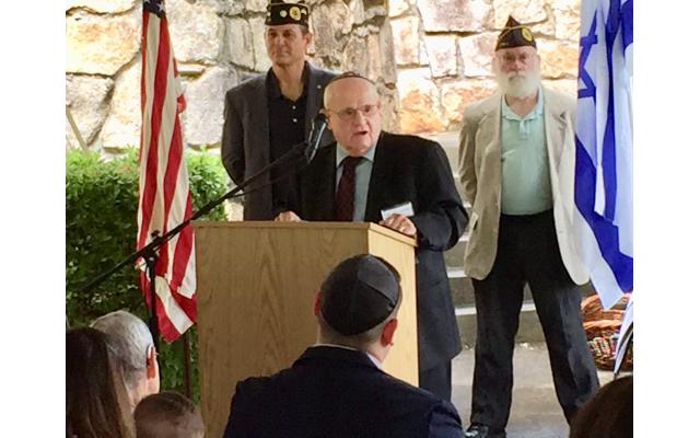Holocaust survivor Hershel Greenblat delivered the keynote message.